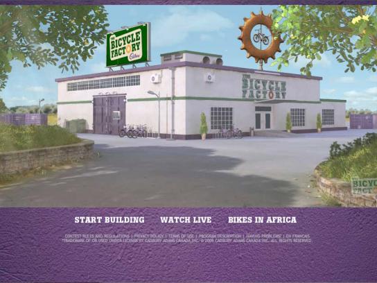 Cadbury Digital Ad -  Bike factory