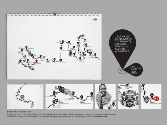 Land Rover Direct Ad -  366 days of adventure