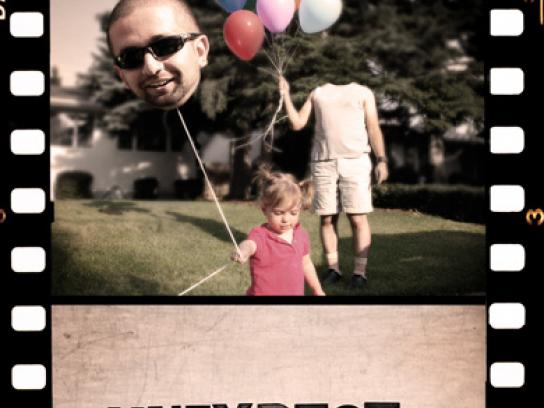 Calgary International Film Festival Print Ad -  Balloons
