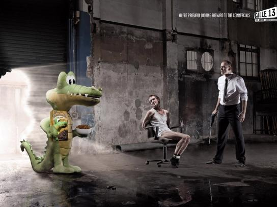 13th Street Print Ad -  Croc