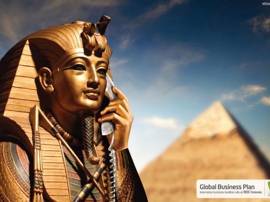 Etisalat Print Ad -  Calling Egypt
