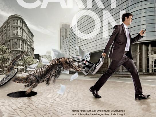Call One Print Ad -  Gator