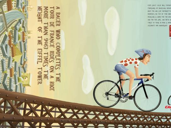 Caloi Print Ad -  Tour de France
