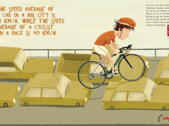 Caloi Print Ad -  Traffic jam