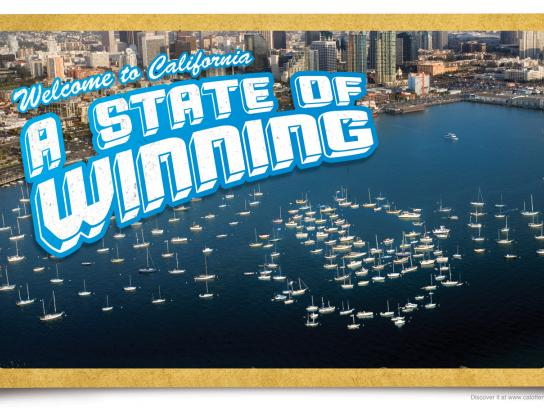 The California Lottery Print Ad -  A state of winning, 1