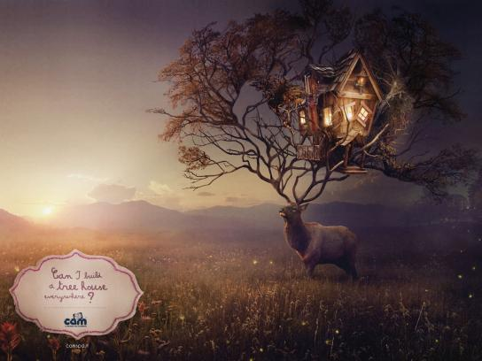 Cam Print Ad -  The Child's world, Deer