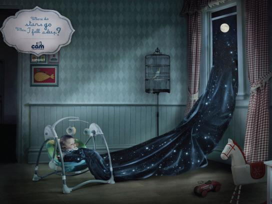 Cam Print Ad -  The Child's world, Stars