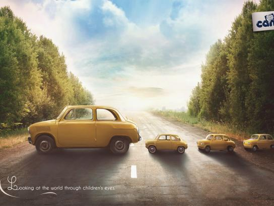 Cam Print Ad -  Cars