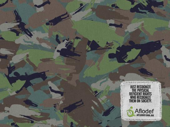 Aflodef Print Ad -  Camouflage, 2