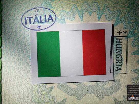 Latitudes Print Ad -  Italy / Hungary