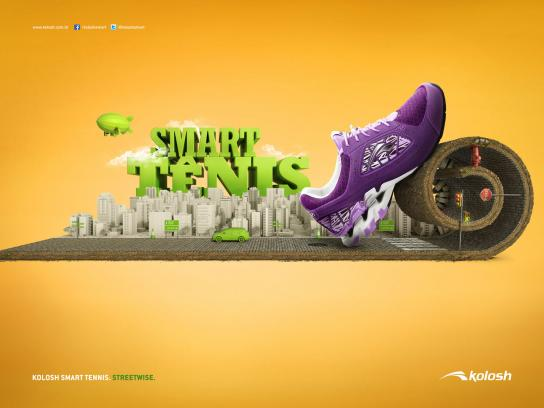 Kolosh Print Ad -  Streetwise, 3
