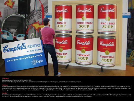 Rigidur Outdoor Ad -  Soup