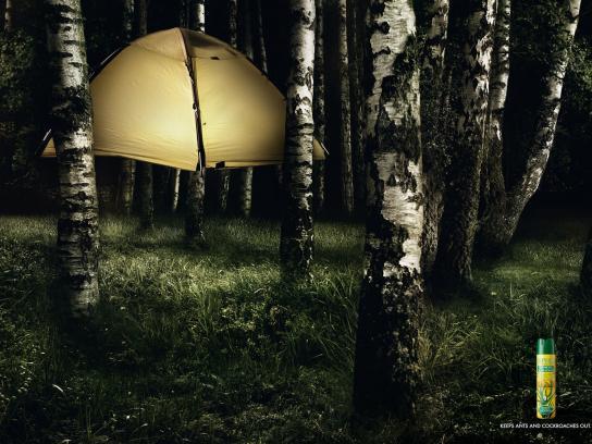 Orphea Print Ad -  Camping