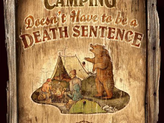 Alberta Wilderness Association Print Ad -  Camping