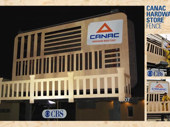 Canac Outdoor Ad -  Fences