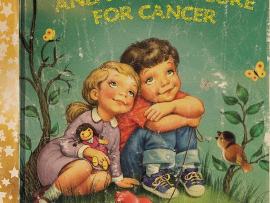 Children's Cancer Institute Australia Print Ad -  Story time, 2