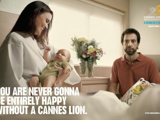 Cannes Lions Print Ad -  Baby
