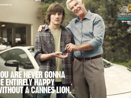 Cannes Lions Print Ad -  Car