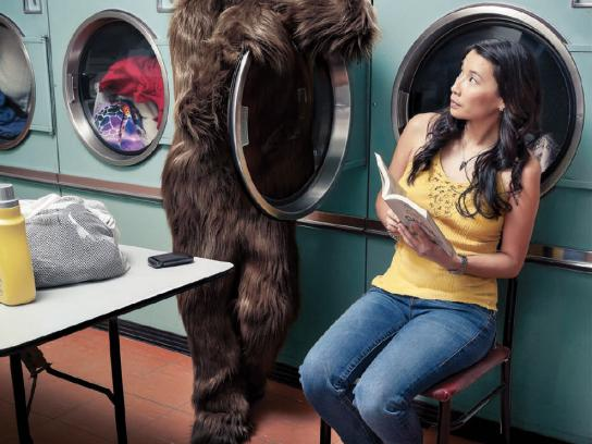 Topcuts Print Ad -  Bad hair, Laundry