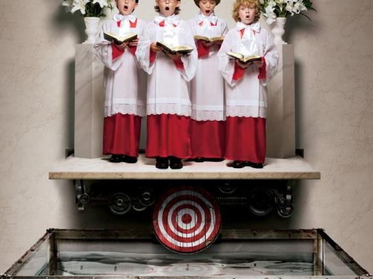 Canon Print Ad -  Cheesy Targets, Choir