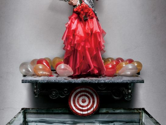 Canon Print Ad -  Cheesy Targets, Miss