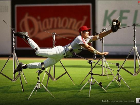 Canon Print Ad -  Baseball