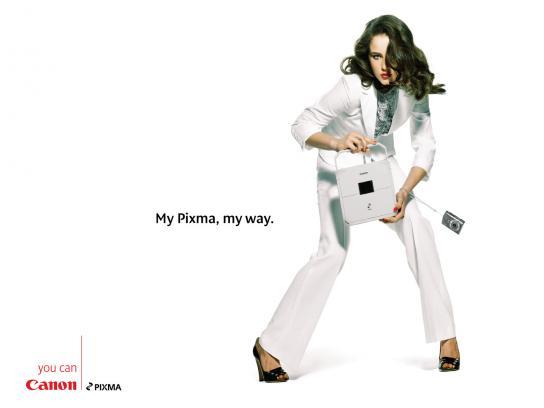 Canon Print Ad -  White