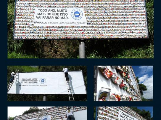 Bahia Marina Outdoor Ad -  Cans