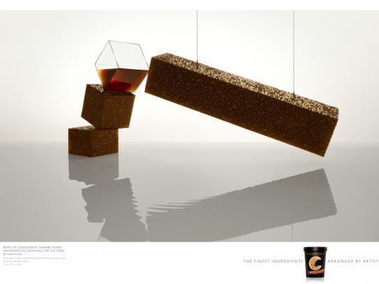 Nestle Print Ad -  Caramel Honey Macadamia