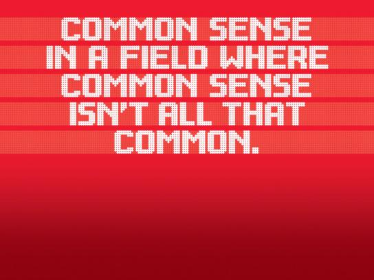 Cardinal Capital Management Print Ad -  Common Sense