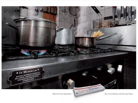 Career Times Print Ad -  Kitchen
