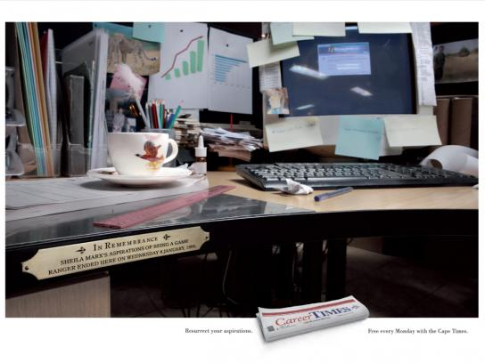 Career Times Print Ad -  Office