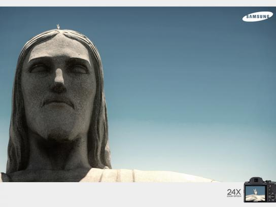 Samsung Print Ad -  Christ the Redeemer