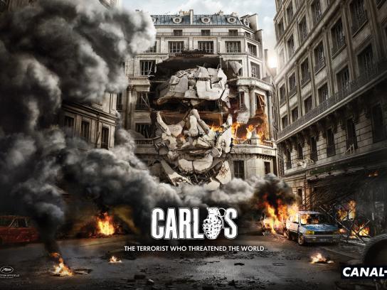 Canal+ Print Ad -  Carlos