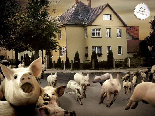 Carrefour Print Ad -  Pork Week