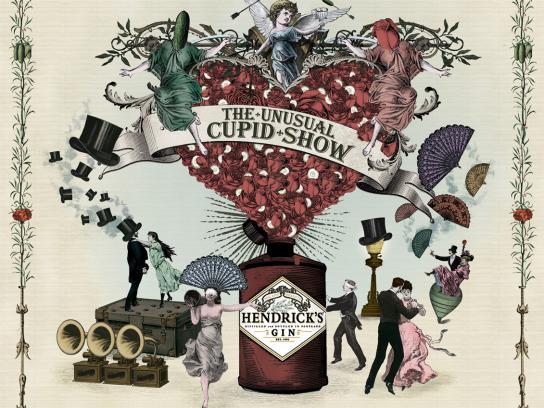 Hendrick's Gin Outdoor Ad -  Hendrick's Gin