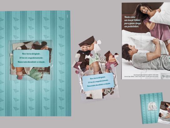 Döhler Print Ad -  Puzzle couple