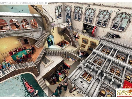 Casino di Venezia Print Ad -  Exciting