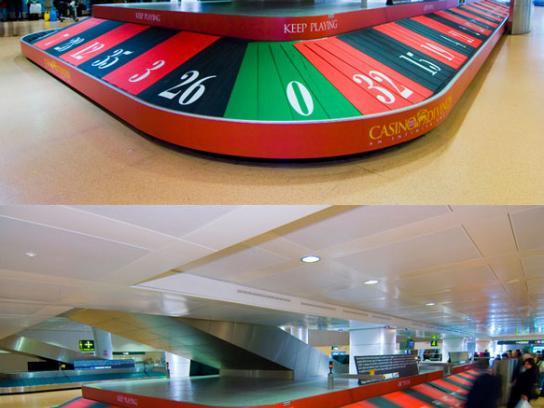 Casino di Venezia Ambient Ad -  Conveyor belt