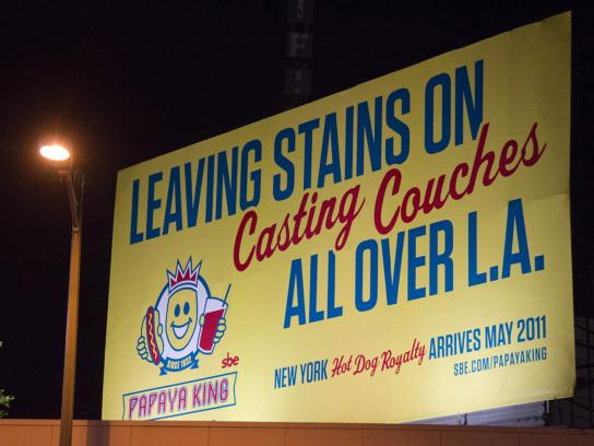 Papaya King Outdoor Ad -  Casting