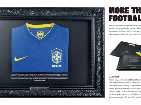 Nike Direct Ad -  New Clubs Sponsorship, Art