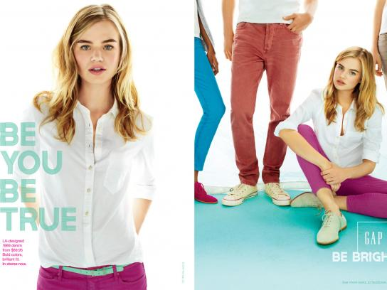 GAP Print Ad -  Blonde