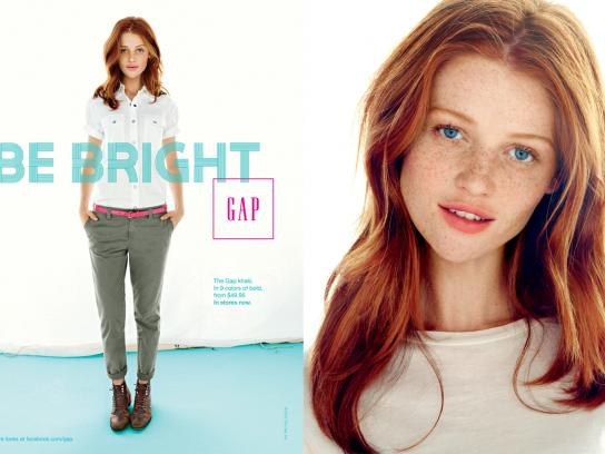 GAP Print Ad -  Red
