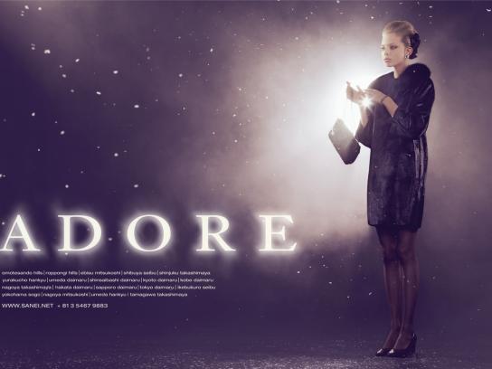 Adore Print Ad -  Spring 2009 Campaign, 1