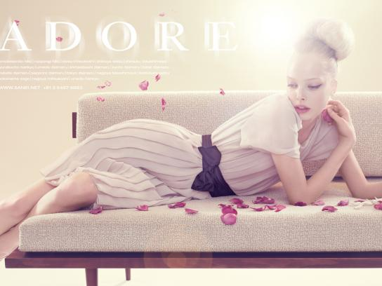Adore Print Ad -  Spring 2009 Campaign, 4