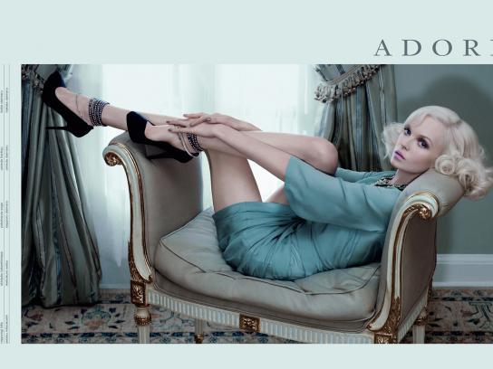 Adore Print Ad -  Spring 2010 Campaign, 3