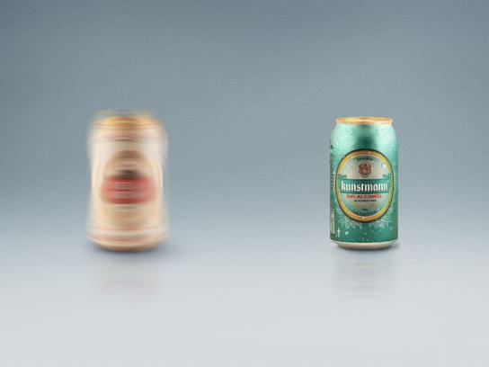 Küntsmann Print Ad -  Blur, Stella Artois