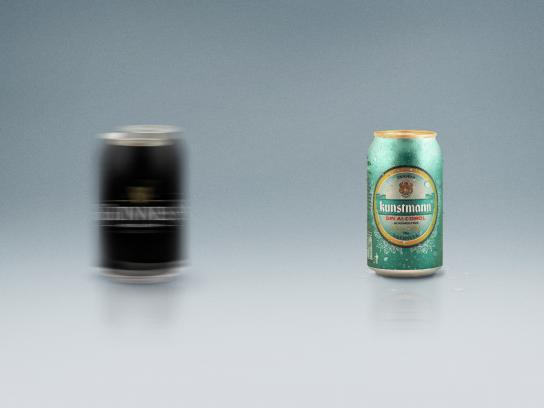 Küntsmann Print Ad -  Blur, Guinness
