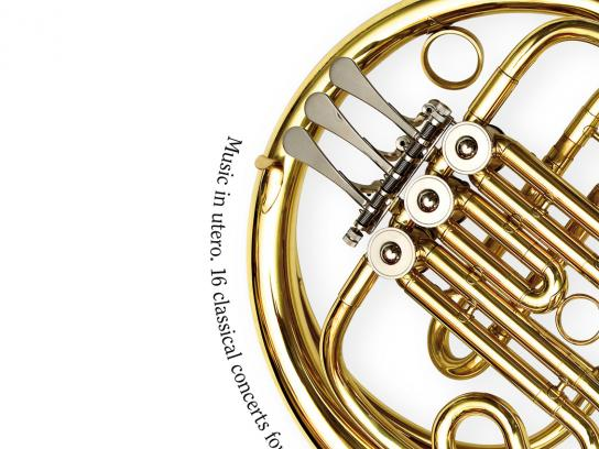 Czech Philharmonic Orchestra Print Ad -  Horn
