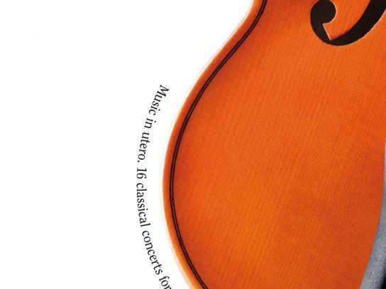 Czech Philharmonic Orchestra Print Ad -  Violin
